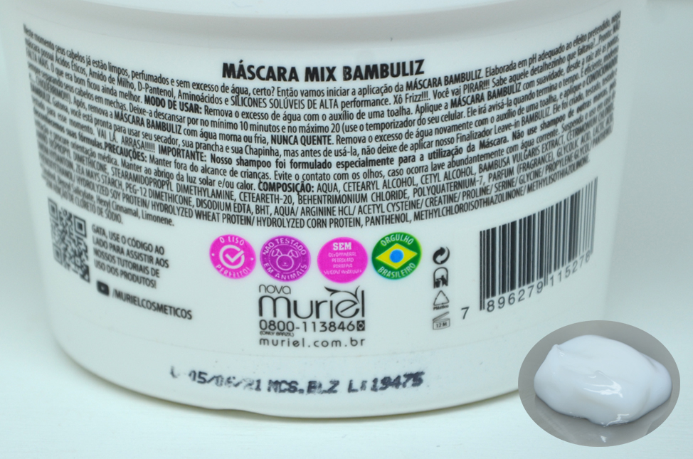 Máscara Mix Bambuliz