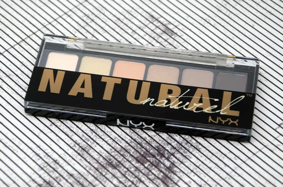Resenha: Paleta de sombras Nyx Natural