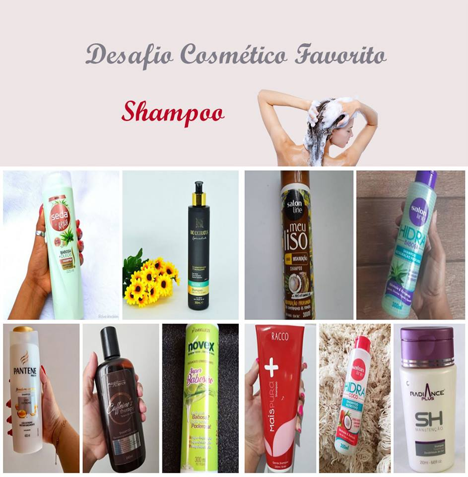 Desafio dos Cosméticos - Shampoo