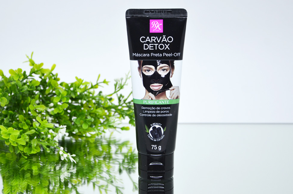 Máscara Preta Facial Carvão Detox Peel-Off RK By Kiss