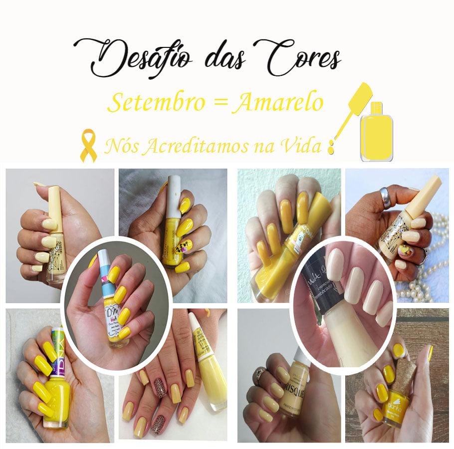Desafio dos Esmaltes - Amarelo