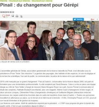 AG 2016, Nouvelle République