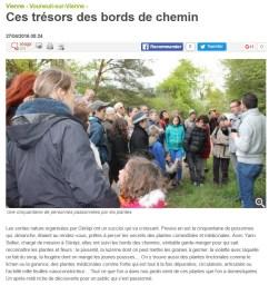 Sortie nature plantes comestibles et médicinales 2016, Nouvelle République