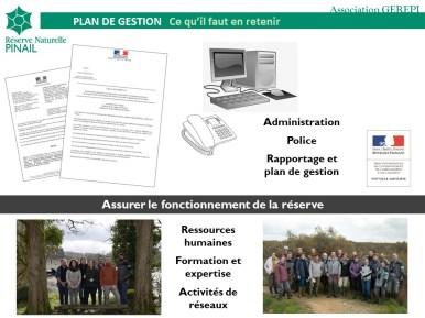 Objectif à long terme n°5 du plan de gestion 2018-2027 RNN Pinail