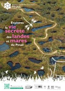Affiche du sentier de la Réserve du Pinail