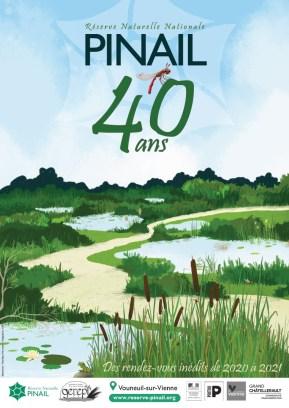 Affiche 40ansRNNPinail 2020-2021