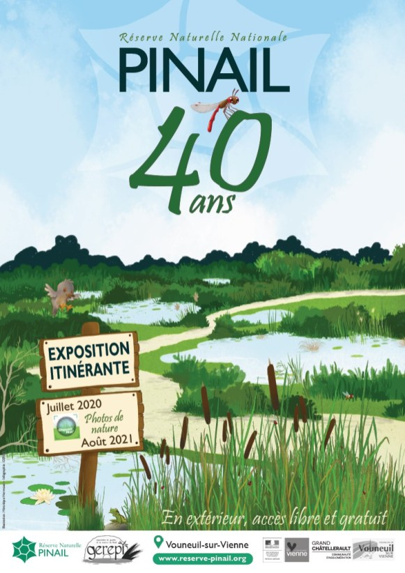 affiche expo 40ans globale
