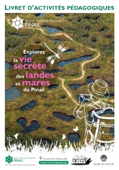 Couverture livret accueil groupe Réserve du Pinail