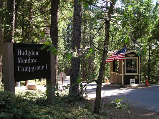 Camping At HODGDON MEADOW CA