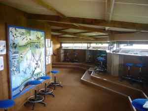 Intérieur de l'observatoire © RNN St Denis du Payré