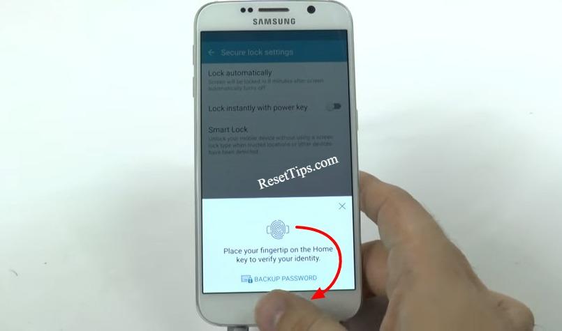hard reset Galaxy S6 - hidden feature-22