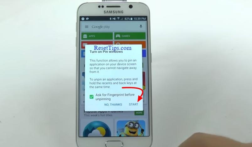 hard reset Galaxy S6 - hidden feature-30