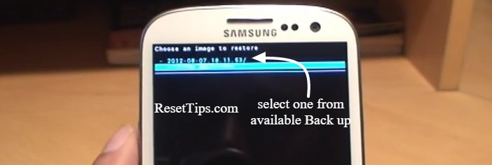 Galaxy backup - restore 2
