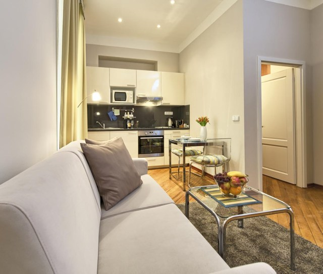 Living Room In A Studio Apartment Type  In Residence Masna