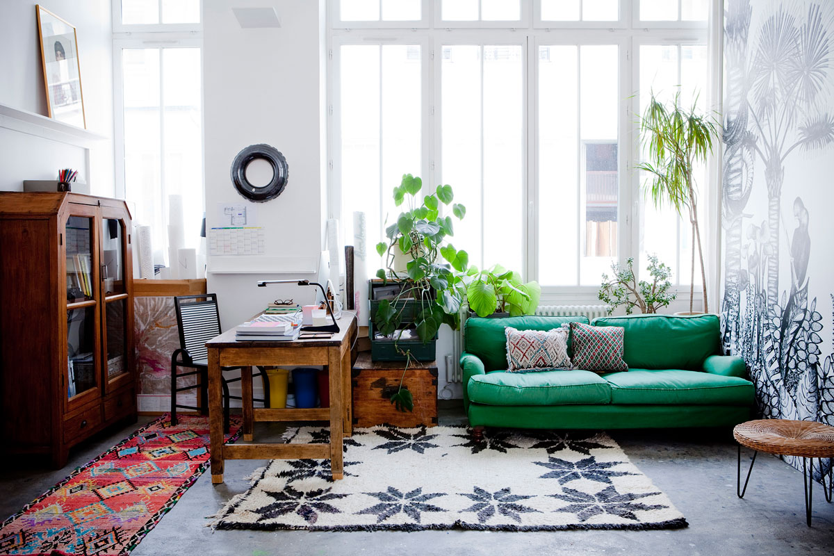 Room Ideas Living Color Green And Dining