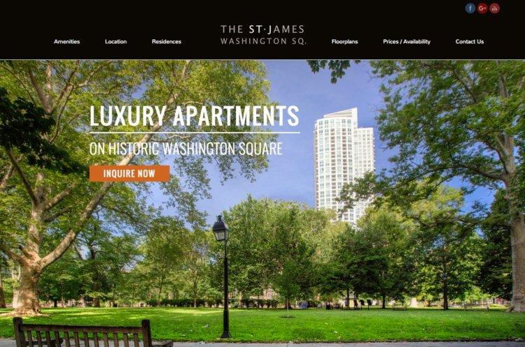 Apartment Website Design - Large Background Image 2
