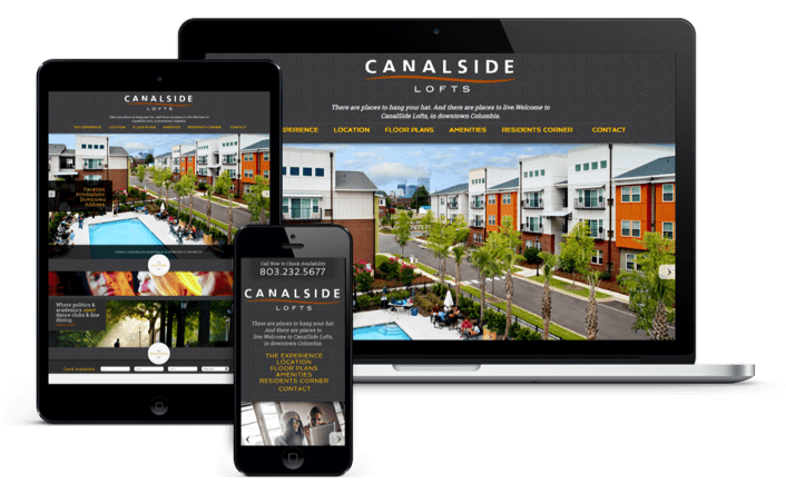 Responsive Apartment Web Design