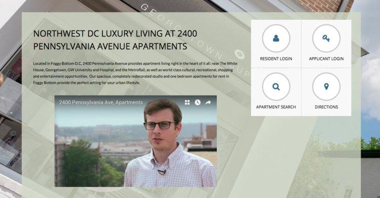 Resident Reviews - Web Design Trend