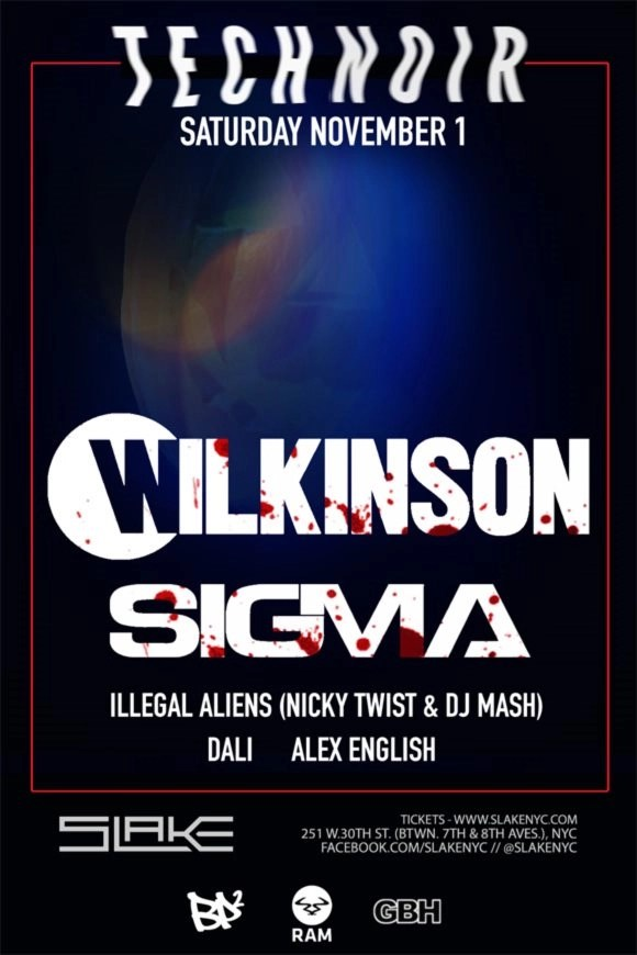 Attend: Drum & Bass Returns! Sigma And Crissy Cris At Slake! | Terry