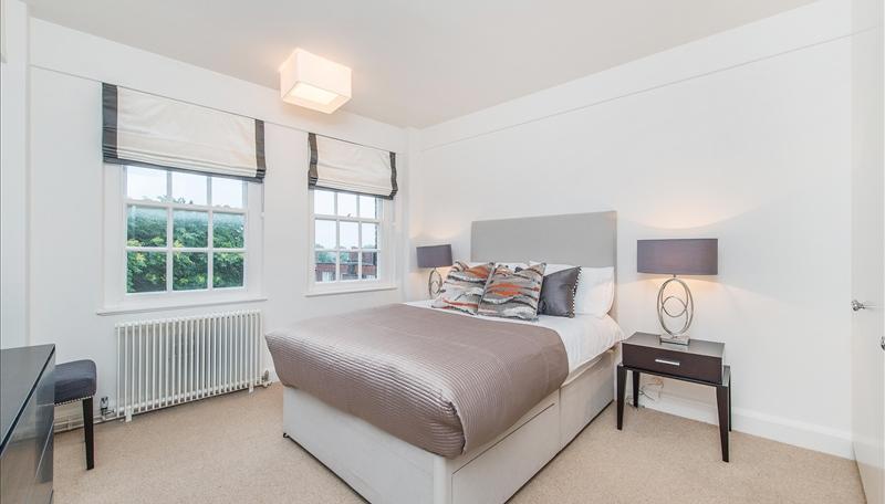 Bedroom at Pelham Court