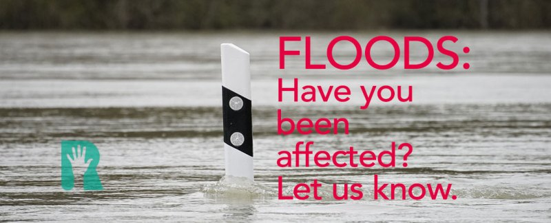 Call for details of flooding on Sunday so we can take it up with ECC