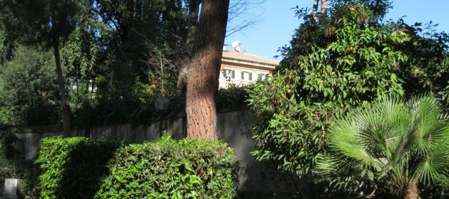 Giardino - Residenza Universitaria Roma