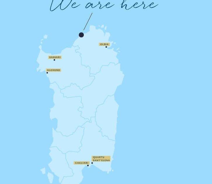 Costa Paradiso Sardegna Cartina Geografica.Posizione Appartameno Vacanze Fronte Mare Costa Paradiso Sardegna