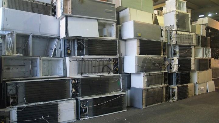 aparatos refrigeradores para su reciclaje