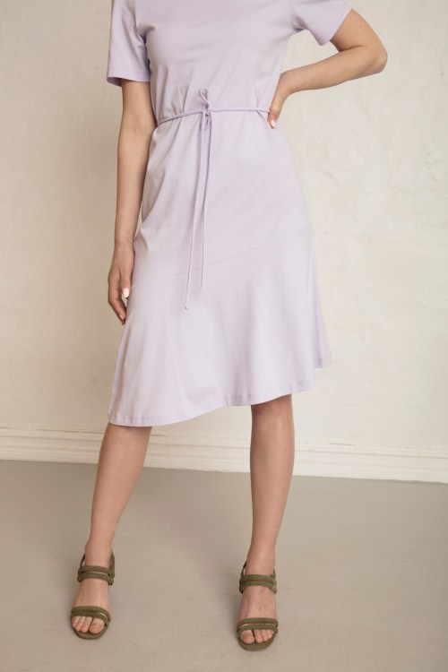 Olivia Organic Cotton Dress with tie detail