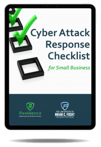 cyber attack response checklist cybersecurity cyber s