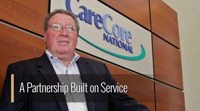 A Partnership Built on Service