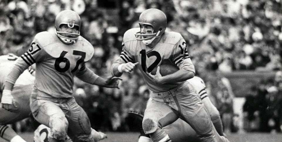 5cfe6891cb2 It was all set. After he completed his first season as a high school  quarterback, Roger Staubach committed to The United States Naval Academy.