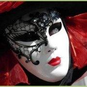 Un voyage en italie - Beau masque du carnaval de venise