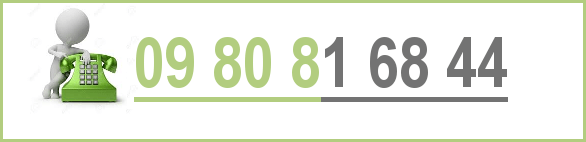 N° de téléphone 09-80-81-68-44