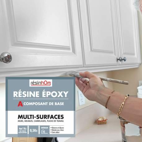 resine epoxy multi surfaces 0 5l pour 2 m2 pour une couche