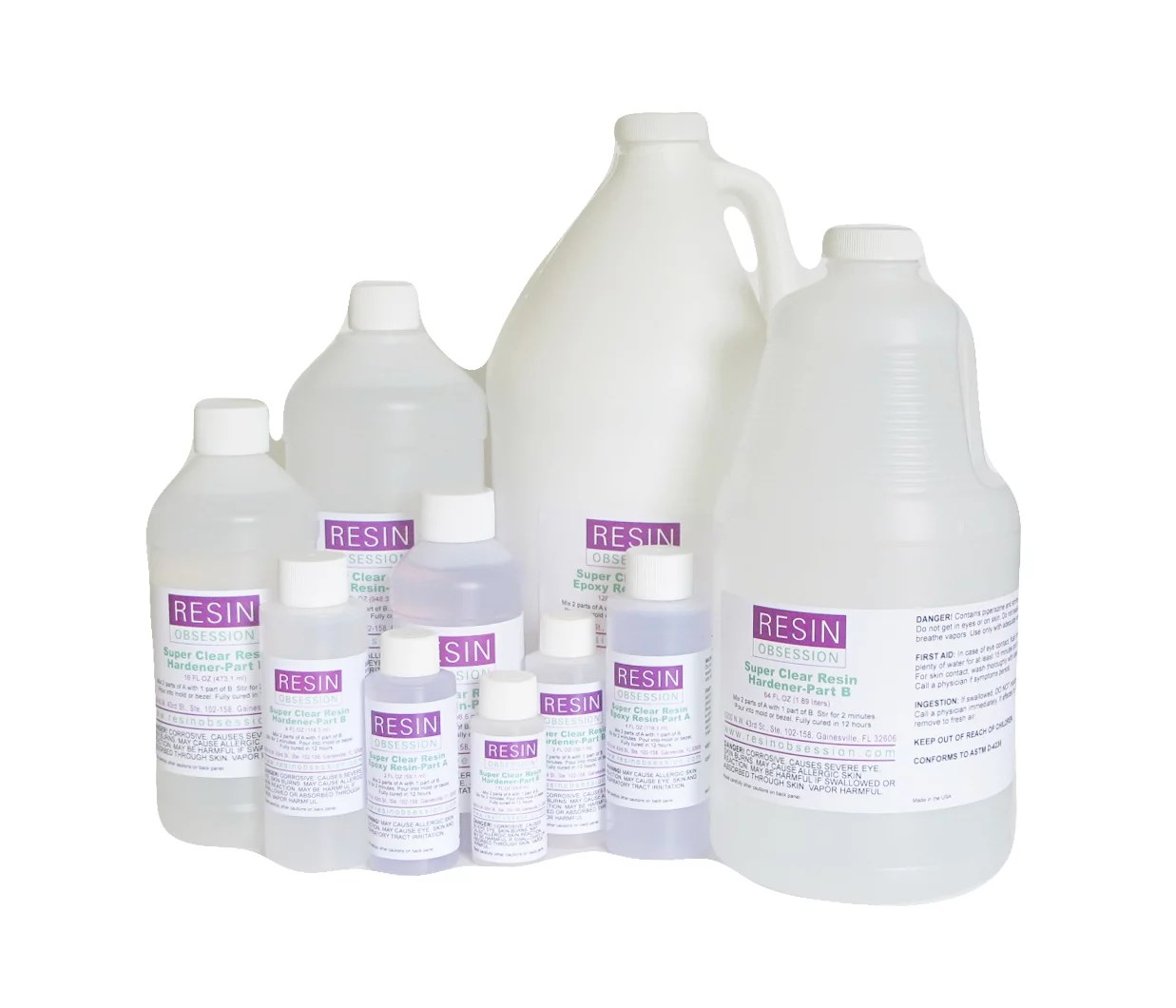 Clear casting resin – shop for water clear, UV resistant