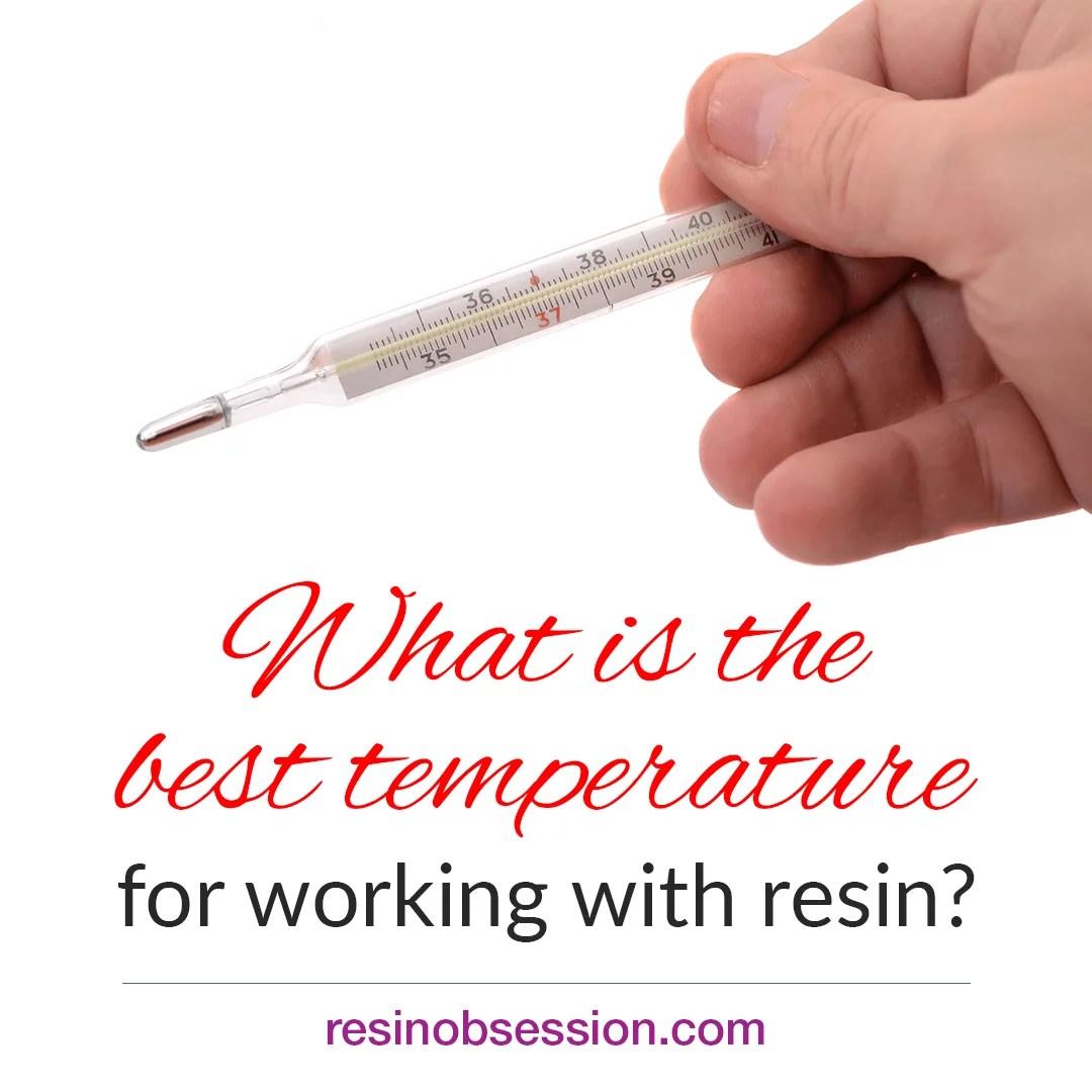 resin mixing temperature