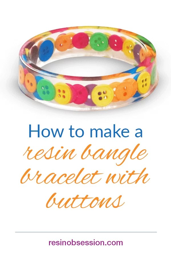 Resin bangle bracelet making