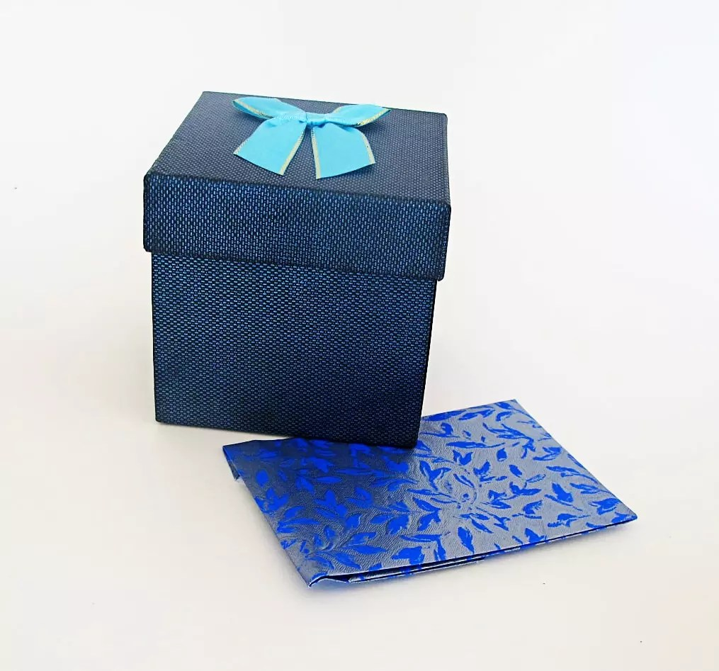 jewelry box with gift card