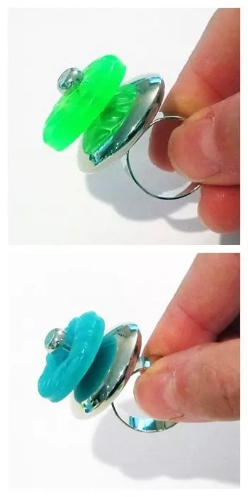 resin button rings
