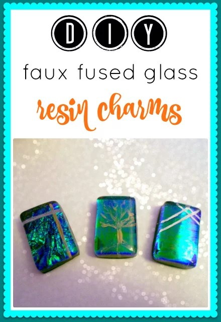 DIY faux fused glass