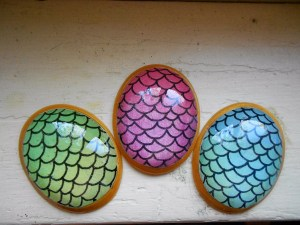 mermaid scales pendant
