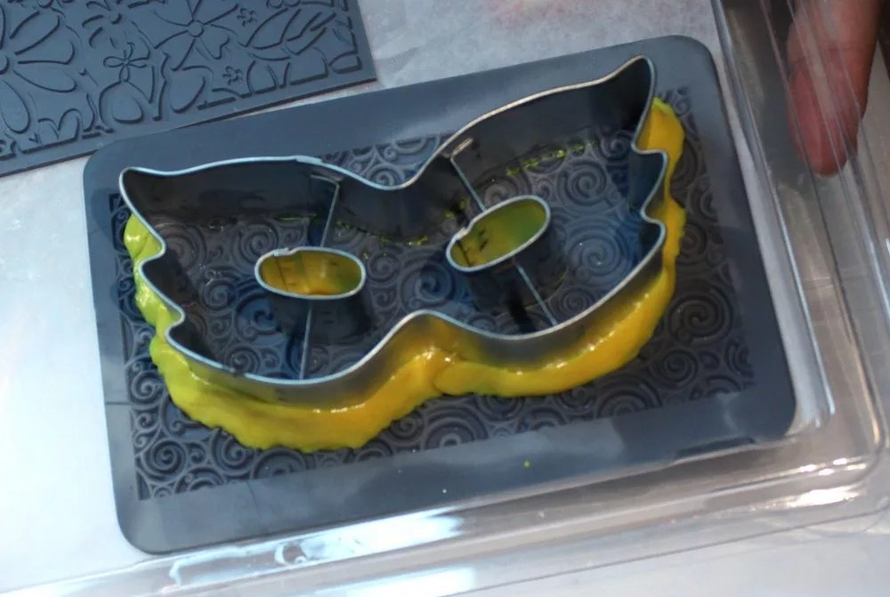 cookie cutter with silly putty