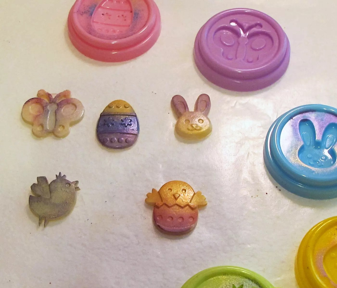resin Easter charms