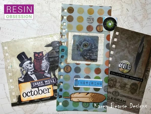 planner dividers made with resin