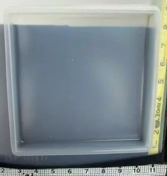 square plastic resin mold