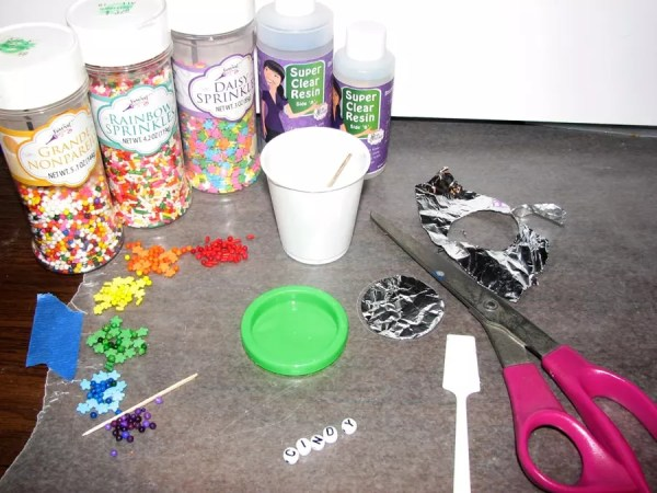 Resin supplies candy jewelry