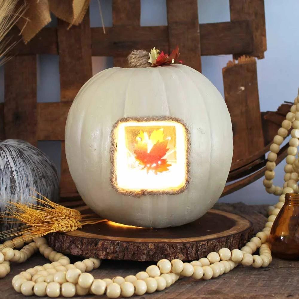 light up thanksgiving centerpiece
