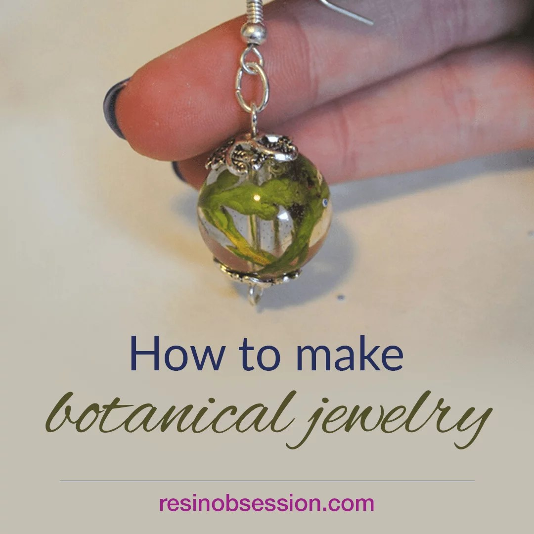 How to make botanical jewelry