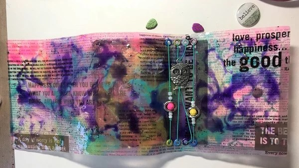 resin book cover